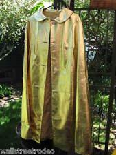 Couture D'abracci Amazing 50s 60s Gold Leather Cape Burlesque Pinup Vlv