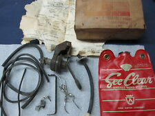 NOS 1961 Ford Falcon Windshield Washer Kit Accessory C1DB-17A603-A Comet 1962