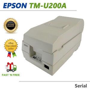 Epson TM-U200A M119A Dot Matrix POS Receipt Printer Serial