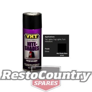 VHT LENS Spray Paint NITE-SHADES TINT - BLACK taillight tail stop light blinker