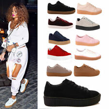 Unbranded Textile Wedge Trainers for Women