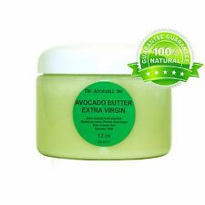 Raw Unrefined Avocado Butter Organic Cold Pressed 2 oz up to 12 Lb Free S/H