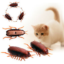1x Funny Electronic Cockroach Pet Cat Puppy Kitten Interactive Training Play Toy