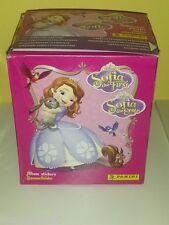 PANINI BOX LA PRINCIPESSA SOFIA THE FIRST 50 packets bustine DISPLAY figurine