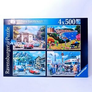 Ravensburger Happy Days No. 1 Look North! - 4 x 500 Piece Jigsaw Puzzle Complete