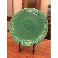 "Vintage Fiesta Pottery Large 15"" Chop Plate in Original Light Green Glaze Circa"
