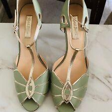 Rachel Simpson Mimosa Green Heels