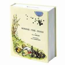 Official Classic Winnie The Pooh 90th Anniversary Book Shaped Money Bank