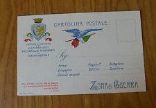 CARTOLINA COMITATO SOCCORSO ASSISTENZA CIVILE GUERRA NON VIAGGIATA SUBALPINA YY