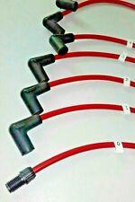 JAGUAR S TYPE 3.4 / 3.8 RED COPPER HT LEADS ACORN connectors only