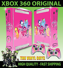 XBOX 360 OLD SHAPE STICKER MY LITTLE PONY PINK RAINBOW DASH SKIN & 2 PAD SKINS