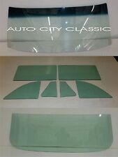 1963 1964 1965 Ford Fairlane 1963 Mercury Meteor 2 Door Hardtop Glass Set Green
