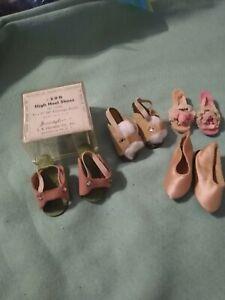 Lot of 4 Pairs Vintage Heels - 1 in Box
