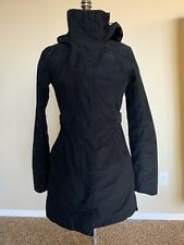 THE NORTH FACE Laney Trench II Rain Jacket BLACK Renewed Womens Extra Small NEW