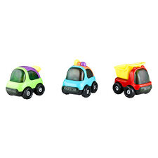 Mini Vehicle Sets of 3 (Multicolor) World of Wheels Toy Cars