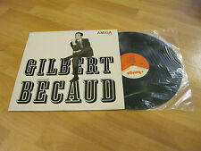 LP Gilbert Becaud Same L'Orange Chansons Je T'Aime   AMIGA DDR Vinyl 850111