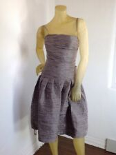 New without tag Herve Leger Strapless Woven B2154 Dress Sz Xs