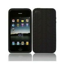 Silicone Cover Aspect Tire Iphones 4 4S Black Black Tyre