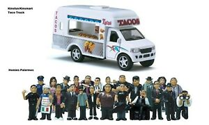 Homies Palermos all 24 figures and Taco Truck, great for 1:32 dioramas