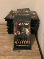 DOUBLE MASTERS BOOSTER PACK MTG MAGIC THE GATHERING SEALED NEW ENGLISH