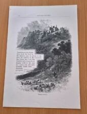 Engraving Small (up to 12in.) Landscape Art Prints