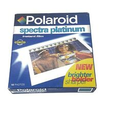 Polaroid Spectra Platinum New Old Stock Film 10
