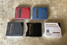 Lot of 5 Pioneer 6-Disc Multi-Play Cd Magazine for Home and Car
