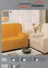 Sofabezug Sofahusse ricamo für 3-Sitzer Couch Rundumbezug Stretch elastisch