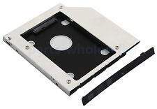 2nd HD SSD hard disk drive caddy Adapter Bay For HP ProBook 650 G1 645 G1 640 G1
