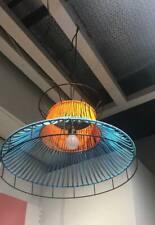 SOLVINDEN LED pendant Lamp outdoor orange/blue