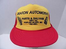 Deaton Automotive Snapback Mesh Hat Poplar Bluff MO Civic Caps Polyester