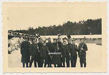 Foto Soldaten-Wehrmacht-Winterdienst  2.WK  (W380)