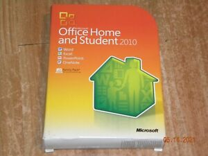 Genuine Microsoft Office 2010 Home and Student Family Pack for 3 PCs With Key