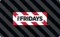 TGI Fridays Gift Card - $25 $50 $100 - Email delivery