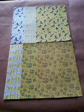 12 Sheets of Craft Backing Paper Approx A4 (2)