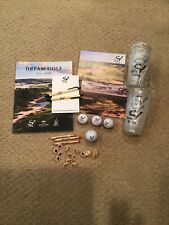 Sand Valley Golf  Mag, Post Cards, Ball, 3 Spf Lip Balm, Mag, Cups, Ball Markers