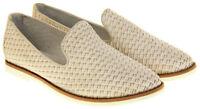 Womens Ladies Keddo Leather Casual Shoes Slip On Espadrilles Size Sz 3 4 5 6 7