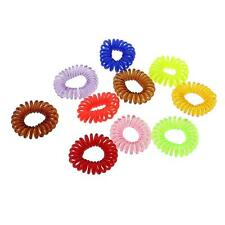 20Pcs Lady Invisi Band Traceless Elastic Hair Ring Rope Ponytail Rubber Hairband