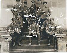 Photo AVION-pilote-officiers personnel-Feldflieger-division 62 (ffa62) (c490)
