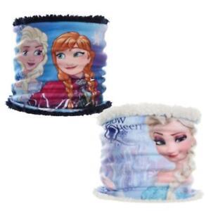 Girls HQ4025 Disney Frozen Neck Warmer Fleece Collar- Scarf one size
