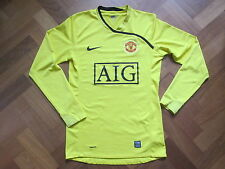 Manchester United Goalkeeper Shirt 2008/09 Nike - Adult Meduim - AIG