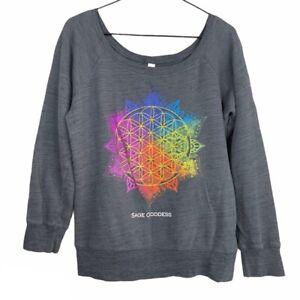 Sage Goddess Flower of Life Sweatshirt