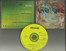ERASURE Always 2TRX 7 INCH MIX & Microbats DANCE MIX PROMO REMIXS DJ CD single