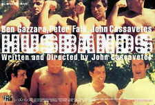HUSBANDS Movie POSTER 27x40 Japanese Ben Gazzara Peter Falk John Cassavetes