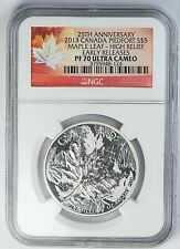 2013 NGC PF 70 Ultra Cameo Canada Maple Leaf Early Release 1 oz Silver .999 Coin
