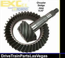 "Chrysler Dodge Jeep 8.25"" 10 Bolt 3.55 Ratio Ring Pinion Gear Set Richmond Excel"