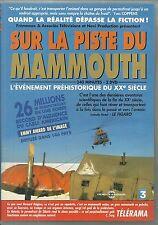 SUR LA PISTE DU MAMMOUTH ( EDITION 2 DVD ) / PREHISTOIRE