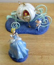 Dept 56 Disney Cinderella It's Almost Midnight Coach