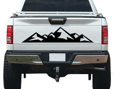 Mountain Nature Forest Graphic Decal Vinyl Fits Tailgate Trailer Rv Camper Mt4