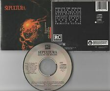 Sepultura CD, Beneath the Remains, RARE 1st Press, Orig 1989 Roadrunner, Soulfly